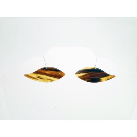Boucle Ecaille forme poisson